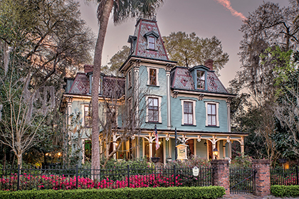 magnolia plantation bed and breakfast inn and cottages, gainesville, florida